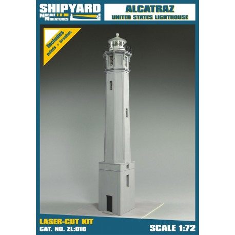 ZL:016 Alcatraz Island Lighthouse