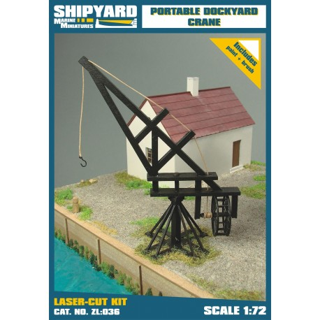 ZL:036 Portable Dockyard Crane