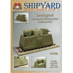 MK:012 Leningrad Armored Self-Propelled Railroad Car No. 43